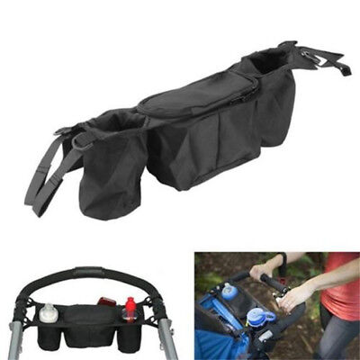 New Baby Pram Stroller Pushchair Buggy Holder Storage Bag Cup Bottle Organizer