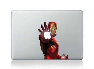 Ironman Macbook Graphic Skin Vinyl Design Air Pro Stickers for Apple Mac 13""