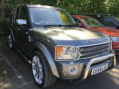 """58 Land Rover Discovery 3 2.7 Tdv6 Hse **7 Seat, Nav, Leather, Tv, 22"""" Alloys**"""
