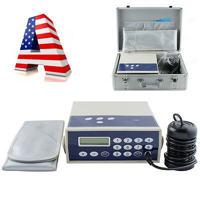 USA Ionic Foot Detox Machine Bath Spa CHI Cell Cleanse with Massage Far Infrared