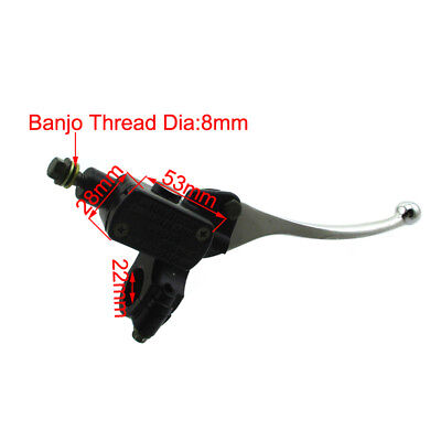 8mm Front Right Hydraulic Brake Master Cylinder For ATV Motorcycle Pit Dirt Bike