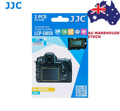 JJC LCPD850 protect 3H Camera Screen Protector LCD Guard Film for NIKON D850 _AU