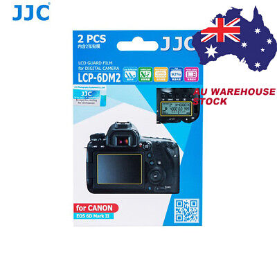 JJC LCP-6DM2 3H Camera Screen Protector LCD Guard Film for CANON EOS 6D Mark II
