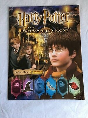 Panini Album - Harry Potter and the Philosopher's Stone Incomplete