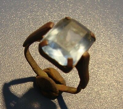 ANCIENT   RING  18 - 19 century.  COPPER. RARE. ORIGINAL.