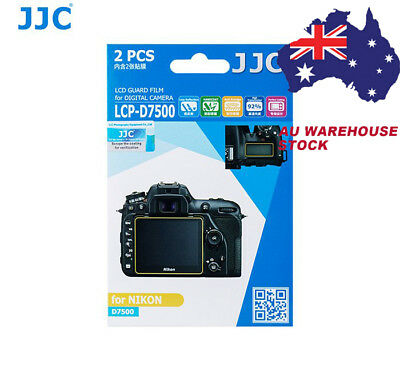 JJC LCP-D7500 LCD Display Screen Protector Guard Film for NIKON D7500 Camera