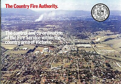 Country Fire Authority Control and Coordination Booklet (298x 210mm)