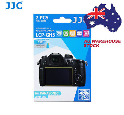 JJC LCP-GH5 LCD Screen Protector Protection Guard Film for PANASONIC LUMIX GH5