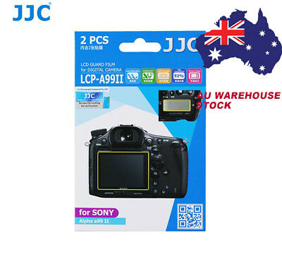 JJC LCP-A99II LCD Screen Protector Protection Guard Film for SONY Alpha a99II