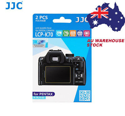JJC LCP-K70 LCD Screen Protector Protection Guard Film for Pentax K-70 K-S2 KP