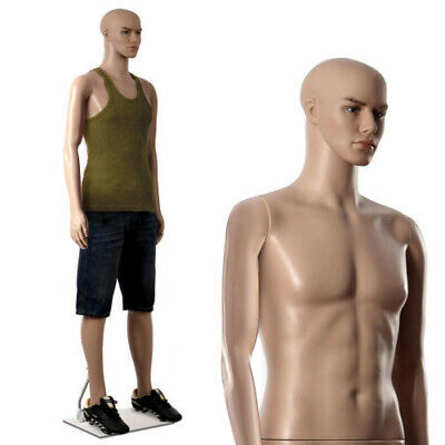 Display Mannequin Dummy Full Body Stand Shop Window Display Tailor Male UK Stock