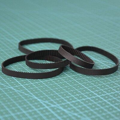 170XL-178XL Rubber Pulley Timing Belt Close Loop Synchronous Belt 10mm Width