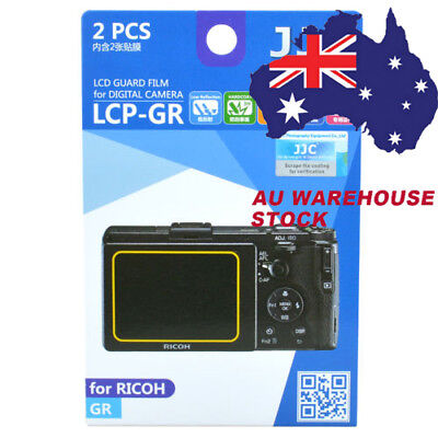 JJC LCP-GR LCD Guard Film Camera Screen Display Protector for Ricoh GR DSLR _AU