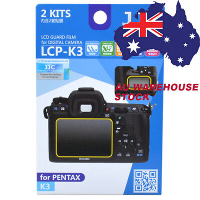 JJC LCP-K3 LCD Guard Film Camera Screen Display Protector for PENTAX K3 DSLR