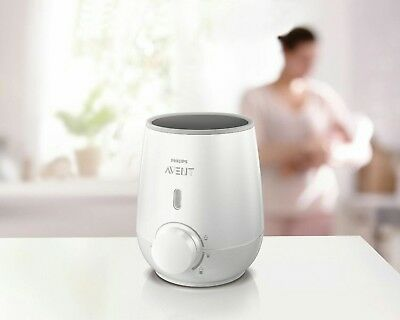 Philips Avent Fast 3 Minute Quick Baby Bottle & Food Warmer Defrost - SCF355/00