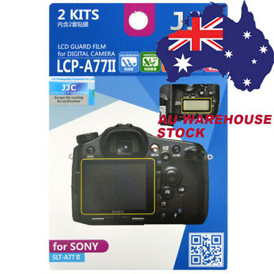JJC LCP-A77II LCD Film Camera Screen Display Protector for SONY SLT-A77 II A77