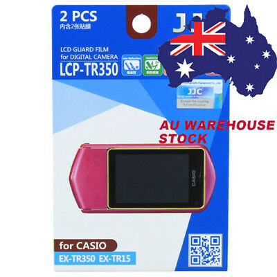 JJC LCP-TR350 LCD Film Camera Screen Display Protector for CASIO EX-TR350 TR15