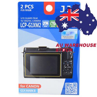 JJC LCP-G1XM2 LCD Film Camera Screen Display Protector for CANON G1X MARK II