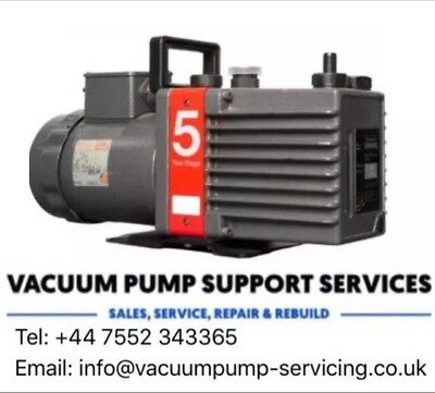 Vacuum Pump-Edwards E2M5-TESTED-230v- SERVICED-WARRANTY-FREE P&P..call now..£475