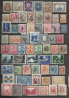 Q782-Lote Stamps Ancient Classics Countries Europe Without Price,