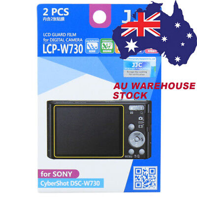 JJC LCPW730 LCD Film Camera Screen Display Protector for SONY CyberShot DSC-W730