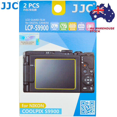 JJC LCP-S9900 LCD Guard Film Camera Screen Protector for Nikon Coolpix S9900
