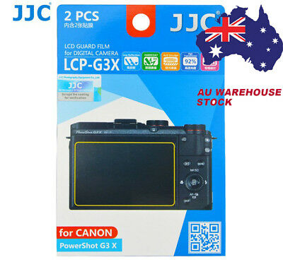 JJC LCP-G3X LCD Guard Film Camera Screen Protector for Canon PowerShot G3 X G3X