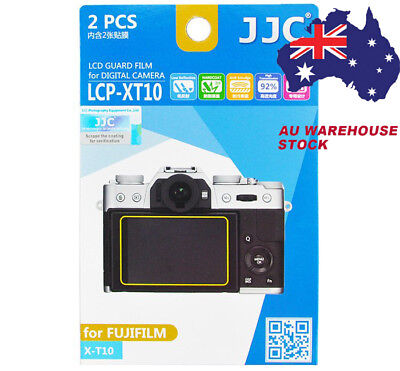 JJC LCP XT10 LCD Guard Film Camera Screen Protector for FUJIFILM XT10 XT20 XT100