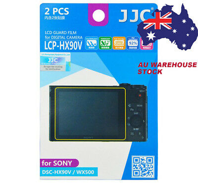 JJC LCP-HX90V LCD Guard Film Camera Screen Protector for SONY DSC-HX90V WX500