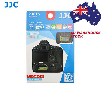 JJC LCP-1DXM2 LCD Screen Protector Guard Film for CANON EOS 1D X Mark II  _AU