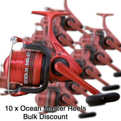 Wholesale Job Lot of 10x Ocean Master 50 3BB Salt Water Sea Boat Fishing Reels