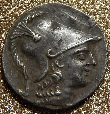 Pamphylien - Side Tetradrachme  ca.150 v.Chr., mit Blister der BW-Bank