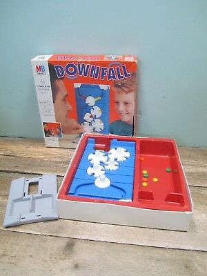 Vintage MB Games Downfall Spares Repair Untested Unchecked Missing Pieces