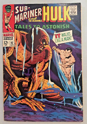 Tales To Astonish, Vol. 1, # 92, June, 1967, 1st cross-over Silver Surfer