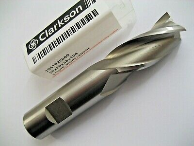 20mm HSSCo8 M42 3 FLUTED SLOT DRILL END MILL EUROPA TOOL CLARKSON 1041022000  77
