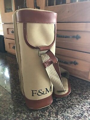 Fortnum & Mason Canvas Wine Cooler Picnic Hamper