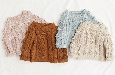 Baby Toddler Girls Knit Jumper BNWT 4 colours