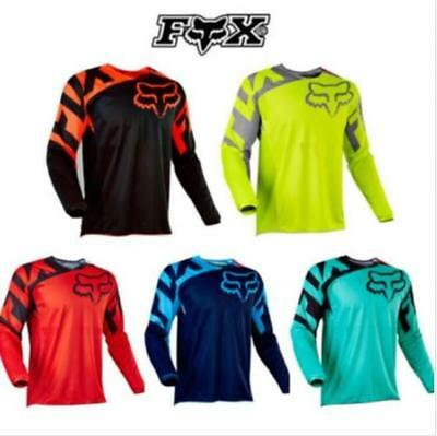 Fox 180 Race Jersey Men's Motocross/MX/ATV/BMX/MTB Dirt Bike Adult 2018 W3