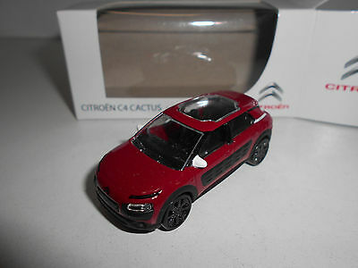 Citroen C4 Cactus Rouge Norev 3 Inches 1:64