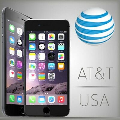 Factory Unlock Service For At&t Iphone X 8 8+ 7+ 7 6+ 6 6S 5 Se  Clean Imei Fast