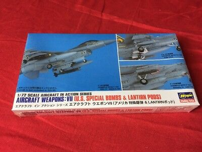 Hasegawa 1:72 Aircraft Weapons VII US Special Bombs