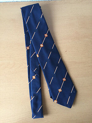 VINTAGE Krawatte Neatwear Tie London blau, The Club Specialists, wie neu