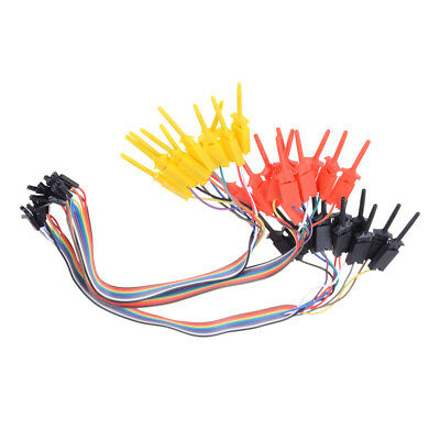 TEST IC Hook Test Clip Logic Analyzer CABLE Gripper Probe Project Ew