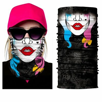 Motorcycle Face Mask Balaclava Helmet Scarf Neck Warmer Snowboard Girlie Girl