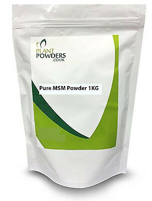 *PURE* MSM Powder - Choose 500g or 1KG Methyl Sulfonyl Methane - Joint Care
