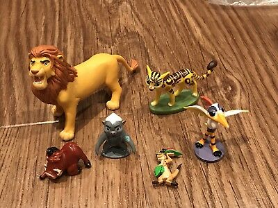 Disney Bundle LION KING Guard Figures Timon Pumbaa Simba Honey Badger Bird