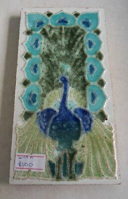 "Original  English  Art Nouveau tile , c1905 3""x6""Tile 873 ?"