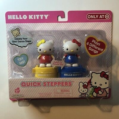 Hello Kitty Quick Steppers Figures - Brand New In Box
