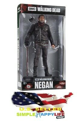 "McFarlane Toys The Walking Dead TV Negan 7"" Collectible Action Figure FAST SHIP"