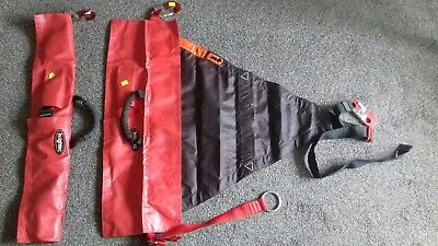 x   2   FIRE SERVICE HIGHTEC HARNESS     RESCUE TEAM